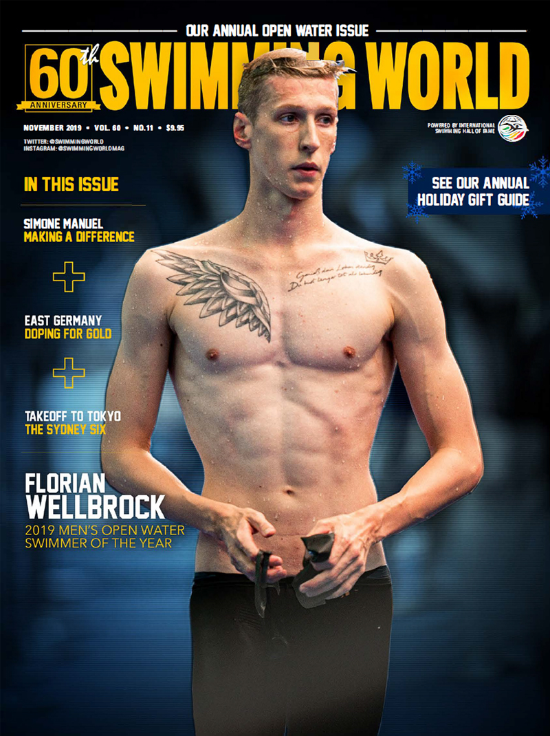 SW November 2019 Florian Wellbrock Cover 800x1070