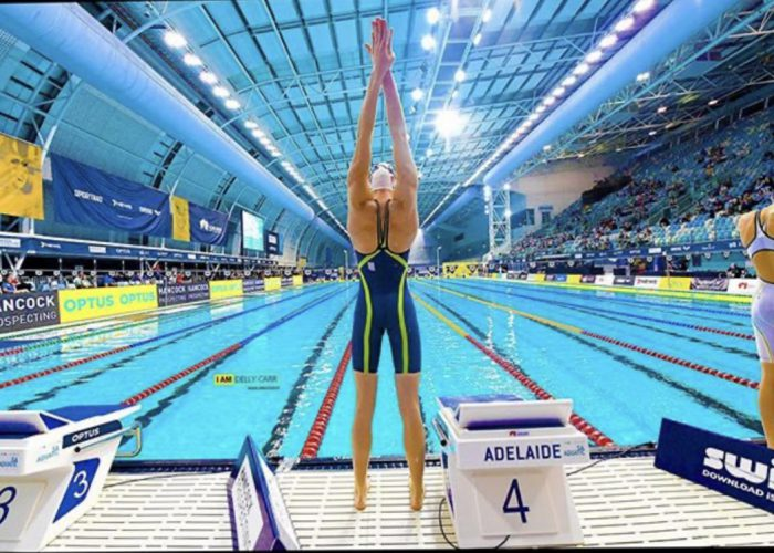 Cate Campbell stretch - Delly Carr Collection