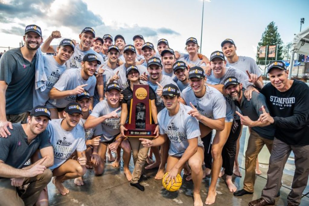 Stanford team pic w trophy 12-8-19