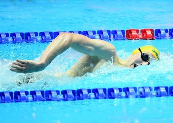 Mack Horton AUS, 400m Freestyle Final, 18th FINA World Swimming Championships 2019, 21 July 2019, Gwanju South Korea. Pic by Delly Carr/Swimming Australia. Pic credit requested and mandatory for free editorial usage. THANK YOU.