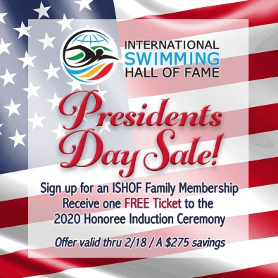 Presidents Day_SW Sale Family Membership Free Ticket to 2020 Honoree Ceremony SQ