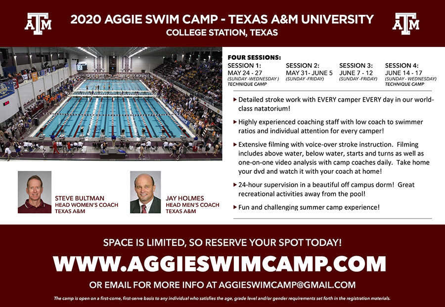 texas-a-m-aggie-swimming-camp-2020