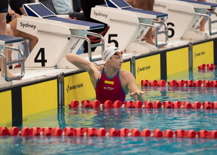 Cate Campbell in lane