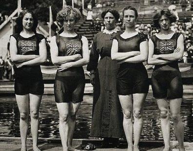 BelleMooreJennieFletcherAnnieSpeirsIreneSteer1912