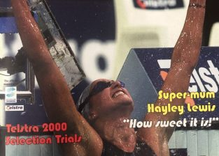 2000 OLY SW TRIALS Hayley front cover