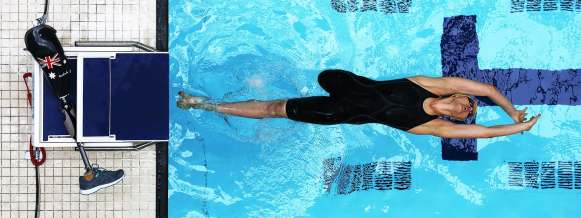 Ellie Cole Backstroke Start