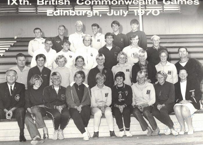 1970 AUSTRALIAN COMMONWEALTH GAMES TEAM-BEST (TBD)