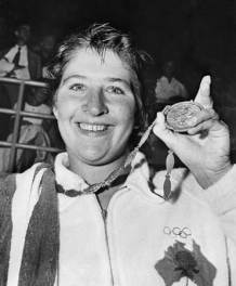 Dawn Fraser 1960 Olympics by Getty