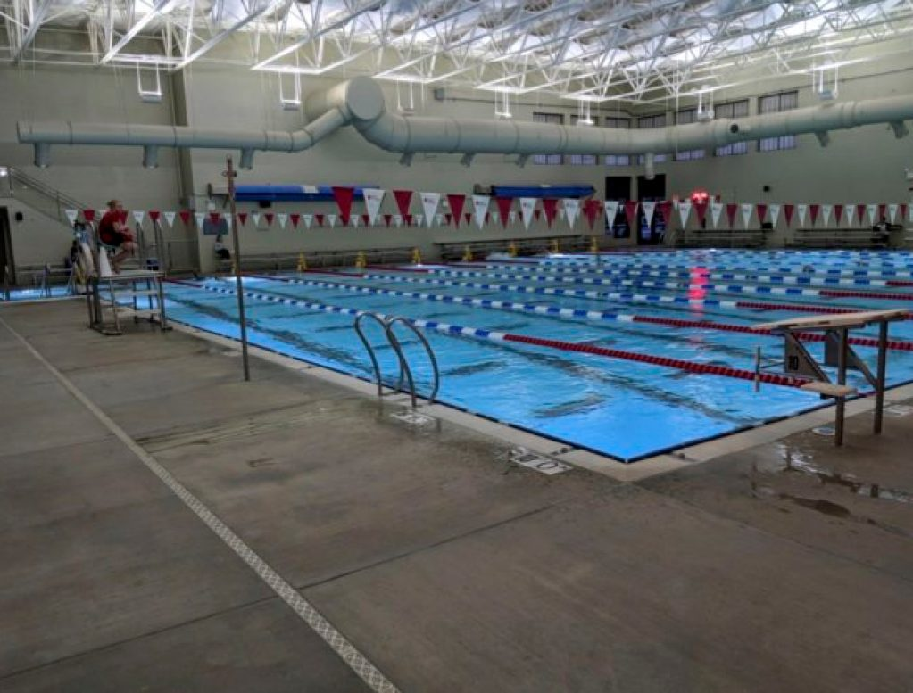 Kroc Competition Pool and Ventilation System