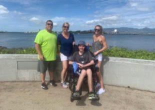 Lexie Mulvihill Jake Mulvihill hawaii family vacation