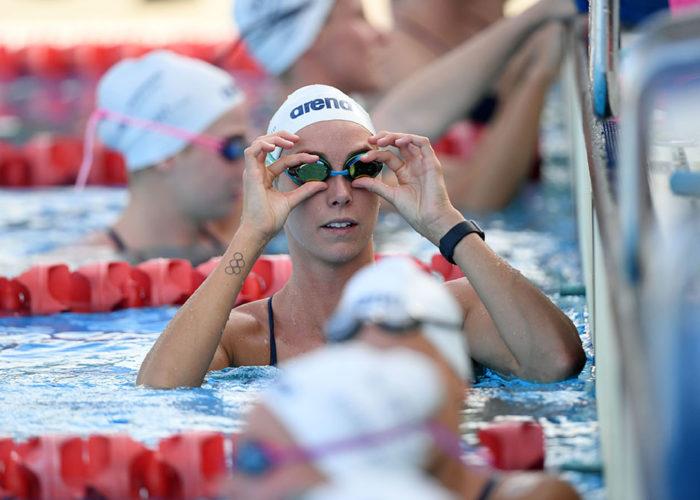 Emma McKeon Olympic rings