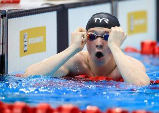 14th April 2021, London Aquatics Centre, London, England ; 2021 British Swimming Selection Trials