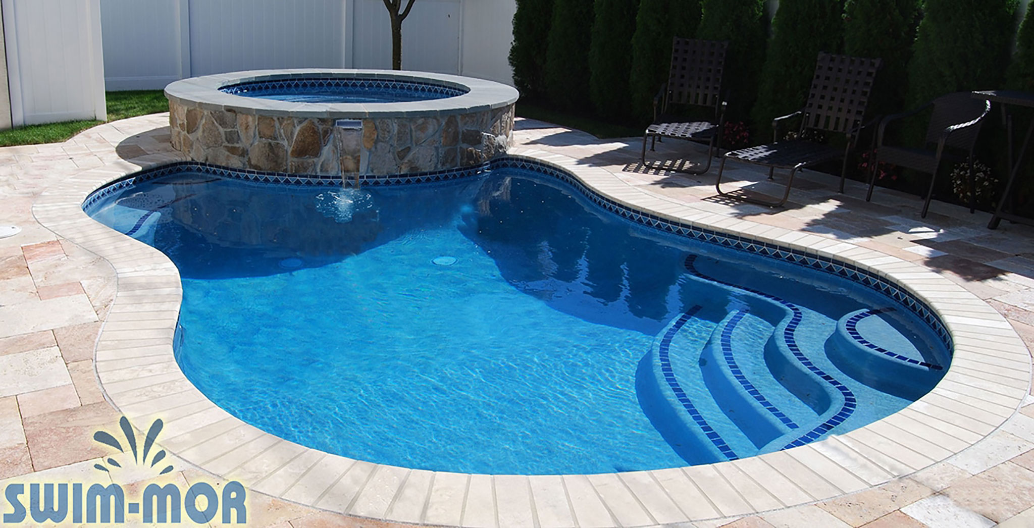 coping and tile swim mor pools and spas