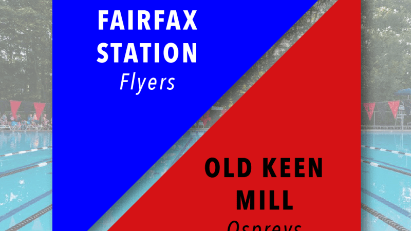 Wk 2 Meet of the Week: Fairfax Station @ Old Keene Mill