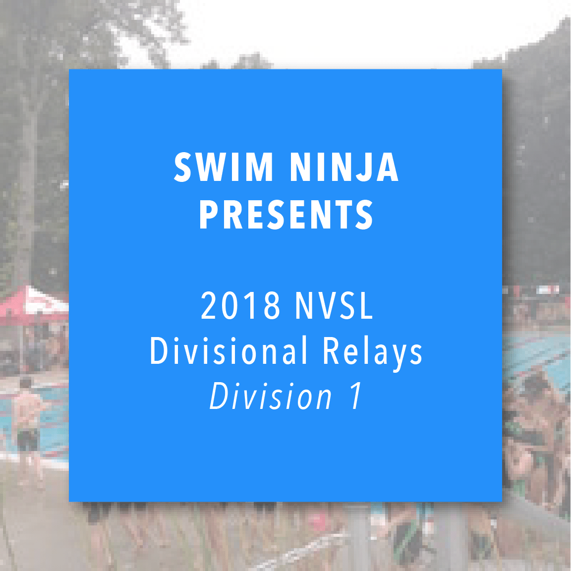 NVSL Division 1 Relay Carnival Live Stream