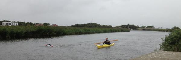 Prøvetur med følgekajak