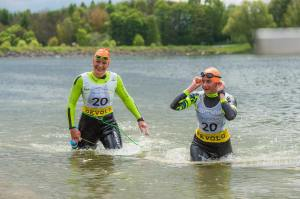 1. SwimRunHof , Wolff Sports - Foto: Jochen Bake