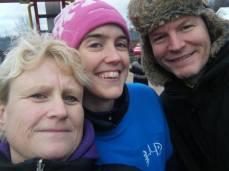Helen L, Julie, Steve