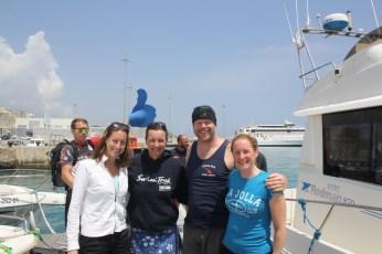 Back at Tarifa Port
