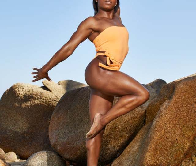 Simone Biles Embraces Her Sexy Side For Si Swimsuit