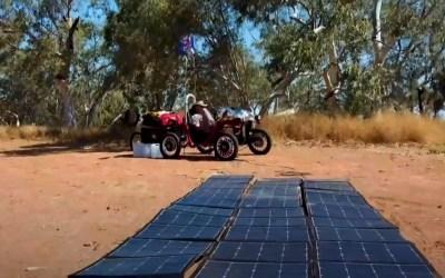 Swincar goes solar
