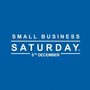 logo for small business saturday