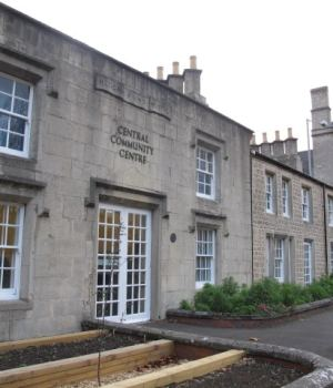 Central community centre - once the hospital