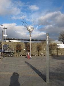 The Jubilee clock Swindon Station