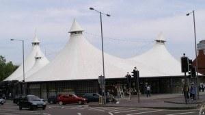 Swindon's tented market