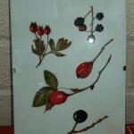 Berries painted on vellum