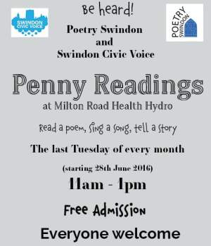 Swindon penny Readings poster