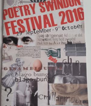 Poetry programme front - Da Da Marcel Duchamp