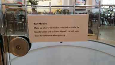 Air mobile sign