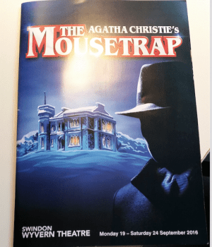 Programme cover the mousetrap