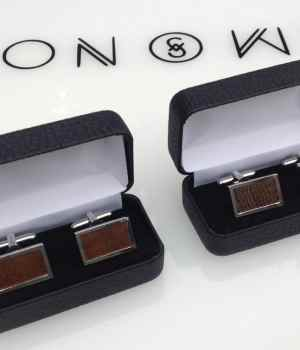 bog-oak-and-kauri cufflinks