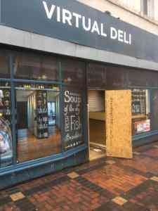 virtual deli shop front swindon