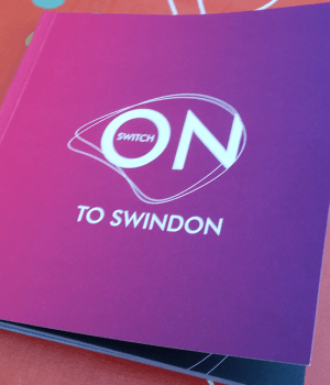 Front cover of The Switch on to Swindon book