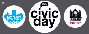 Civic Day 2017 - logos for SCV and MIT