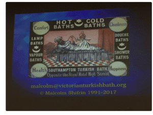 Slide from Malcolm Shifrin's talk