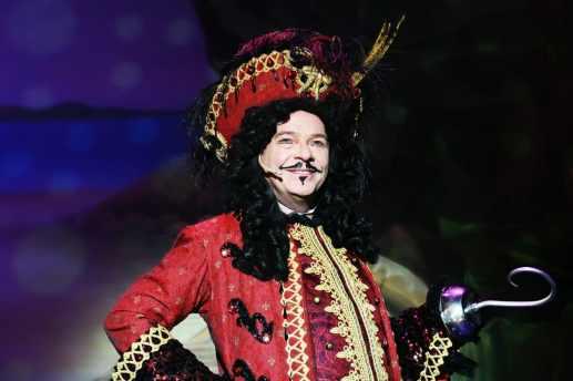 Adam Woodyatt as Captain Hook