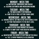 Week two classes pop-up business school