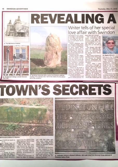Swindon Advertiser article