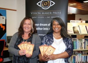 Naz and Sarah - SWINDON AUTHOR OFFERS HELP TO WOULD-BE WRITERS