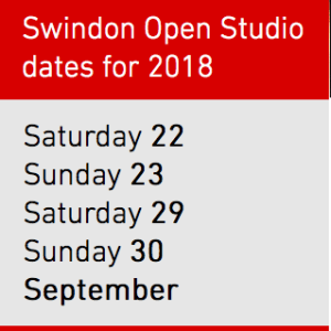 Swindon open studios dates 2018