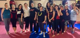 ladies kickboxing swindon