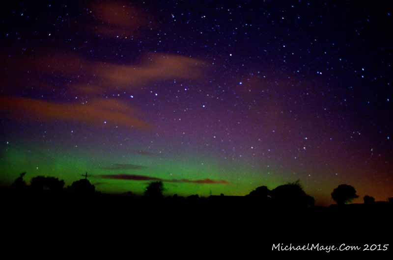 Aurora over Swinford Co Mayo