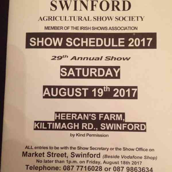 swinford agricultural show photography competition 2017