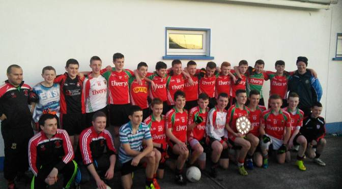 Under 15 Division 3 Final Swinford v Davitts