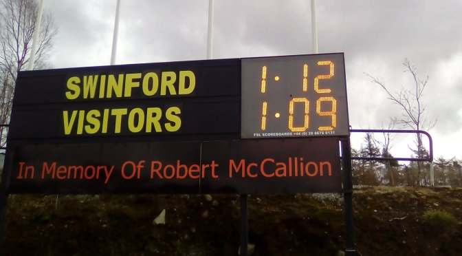 Senior League Div 4 Swinford v Castlebar Mitchells