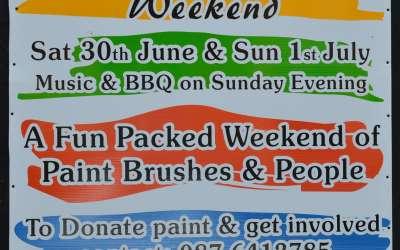 Let's Paint Swinford Weekend